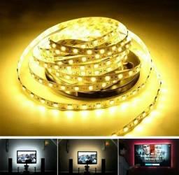 Título do anúncio: Fita Led 1M USB (Luz Decorativa Para Tv / Espelho / Quadro / Parede)