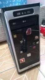 Gabinete + HD + Disquete + Leitor/Gravador CD/DVD