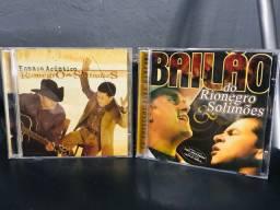 CDs Rio Negro e Solimões