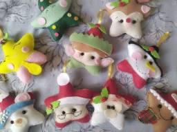 Pingente, enfeite para árvore Natal - Decoração em feltro Natalino