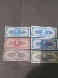 Notas/Cédulas antigas de Cruzeiros