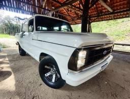 Título do anúncio: F1000 Diesel linda,  aceito troca com volta