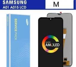 Título do anúncio: Frontal Tela Display Touch Compatível A01 A01m A015m/ds