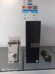 Desktop Dell OptiPlex 7050 SFF+Core i7 7700+16GB Ram+SSD240GB+Wi-Fi-Entregamos