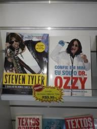 Livro Steven Tyler ou ozzy