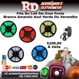 FITA DE LED 5M COM FONTE