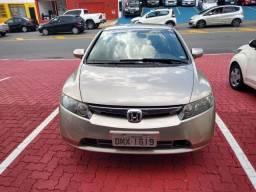 Civic Lxs 1.8 Automatico Ano 2007 Apenas R$ 34.900,00