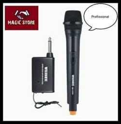 Microfone Sem Fio Profissional ENTREGA GRÁTIS