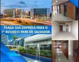 Título do anúncio: SALA 316 M2, HANGAR EMPRESARIAL, COM 11 GARAGENS, PERTINHO DO AEROPORTO INTERNACIONAL DE S