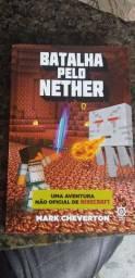 Livro batalha pelo nether. Minecraft