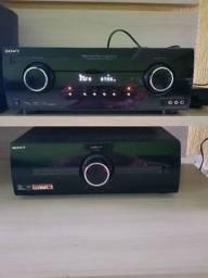 Home theater Sony muteki 7.2 raridade