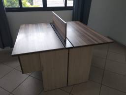 Mesa plataforma com tratamento antibactericida