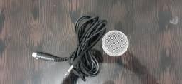 "Microfone Shure Sv100 C/ Cabo 03 Metros"""