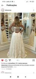 Vendo vestido de noiva novo