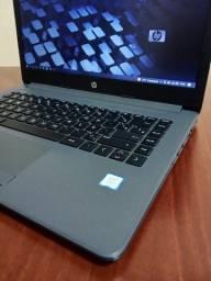 Título do anúncio: Notebook Hp 246 G7 I3 7.ª 4gb Ssd 128gb (novinho !!!!)