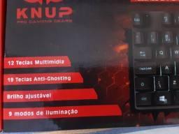 Teclado Semi-Mecânico Gamer com Anti-Ghosting KP-2050 ? Knup (entrega grátis)