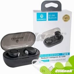 Fone De Ouvido Bluetooth Lehmox LE-290-Entrega Grátis