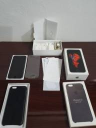 IPhone 6s 16GB Preto Usado + Capa Original