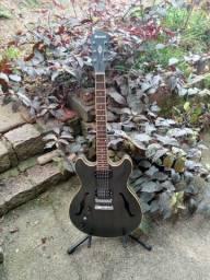 Guitarra canhota Ibanez As53 Tkf Semi Acustica / Acompanha Case Sólido marca Gator
