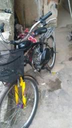 Título do anúncio: Bicicleta motorizada nova