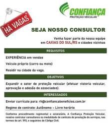 Título do anúncio: Vaga de vendedor / consultor na cidade de Caxias do Sul / RS