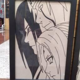 Quadros do Anime Naruto