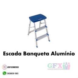 Título do anúncio: Escada banqueta alumínio