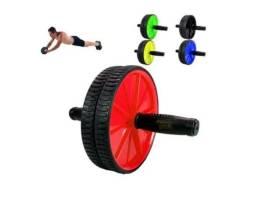 Rolinho Exercícios Rodinha Dupla Abdominal Aparelho Fitness
