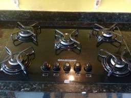 Vendo fogao cooktop muito novo ,5 boca ,volt 220