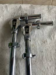 Par de tom Holder Pearl Uni-lock