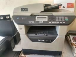 Impressora multifuncional brother DCP 8080 em perfeito estado de conservação