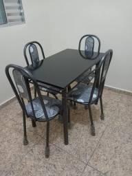 Mesa 4 Cadeiras Nova Na Caixa 1.00X60