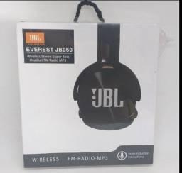 Fone JBL Bluetooth/SD/rádio fm/aux(cor Branco)