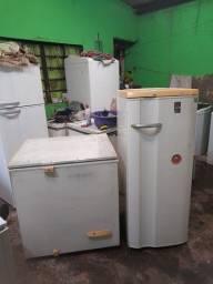 Kit freezer + geladeira