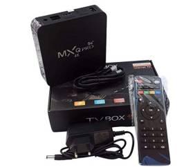 Tv box 5g contém 128 gigas peça já o seu!