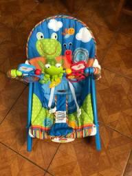 Cadeira de balanço/descanso vibratória (fisher price)