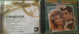 CDs Musicas De Filmes e Grease