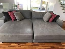 Sofa chaise fixa