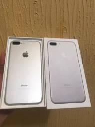 iPhone 7 plus silver de 128 GB