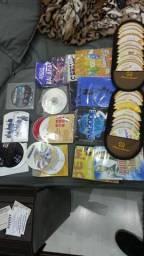 Lote cd dvd musicas