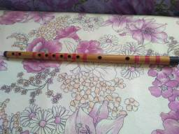 Flauta transversal chinesa F Fá (perfeito estado)