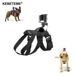 Suporte para por gopro no cachorro/dog tamanho ajustável