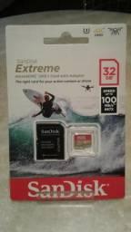 Cartão de memória Micro Sd extreme 32GB - Sandisk