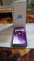 Vendo Samsung J4 32g 4g biometria lacrado