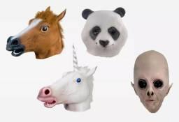 Máscaras de Cavalo, Alien, Panda, Unicórnio- Perfeito para festas