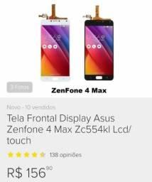 Frontal nova Asus 4 max