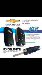 Chave canivete Chevrolet modelo moderno