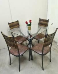 Promoção// Mesa c/ 4 Cadeiras *Nova