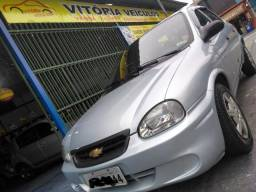 Chevrolet Corsa Classic Spirit 1.0 VHC-E Completo Prata Veja - 2009