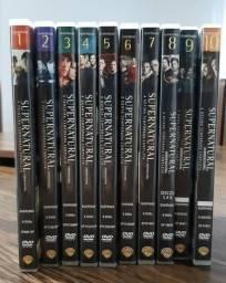 DVDs Supernatural - Temporadas 1° a 10°